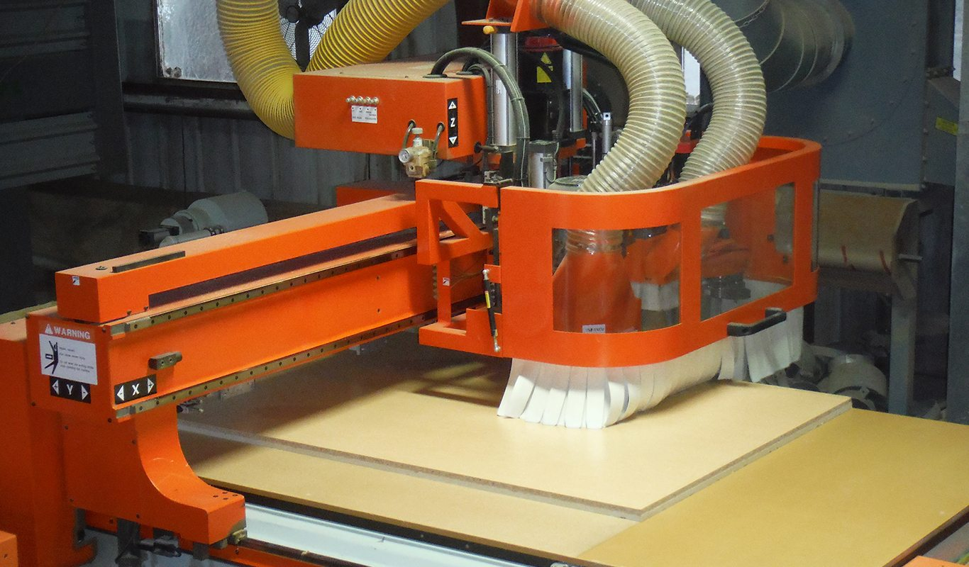 CNC Machinery Cutting Panels to specific sizes