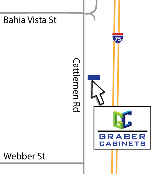 Graber Cabinets Location Map